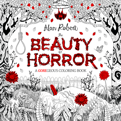 Get Your Coloring Book Fad On with 'The Beauty of Horror'