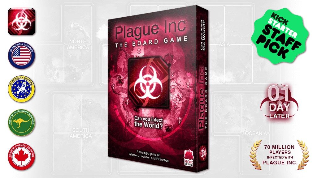 Want to See 'Plague Inc.' as a Board Game?