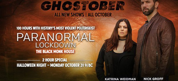 'Paranormal Lockdown' Is Getting A 2 Hour Halloween Special!