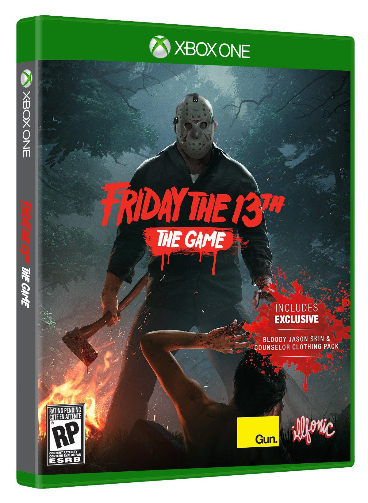 X Box 1 Games : The physical release of 'friday th game will