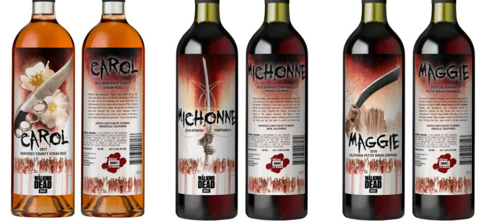 Lot18 and AMC Celebrate Carol, Maggie, and Michonne with New 'The Walking Dead' Wine Collection