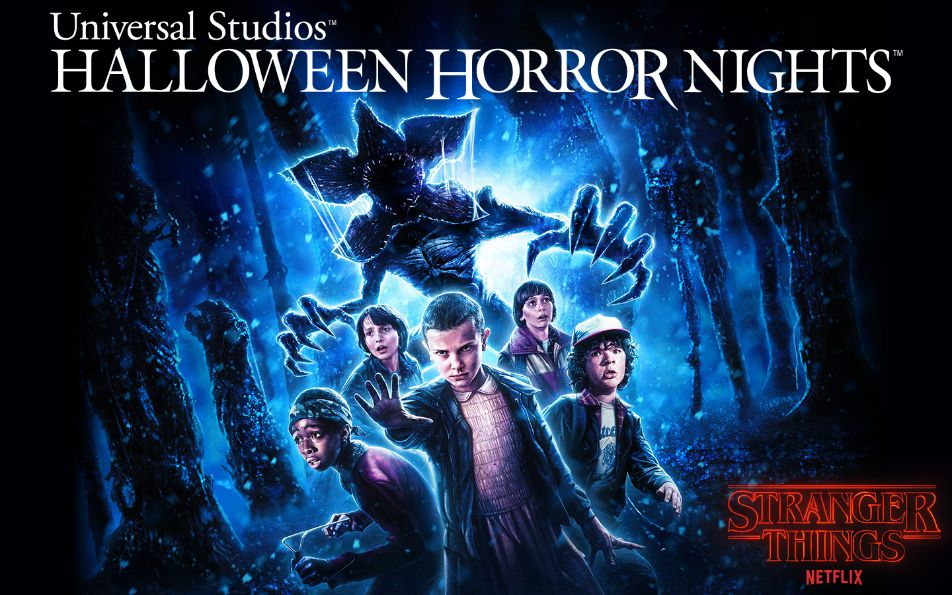 Universal Studios' Halloween Horror Nights Reveals First Look Image of New 'Stranger Things' Maze