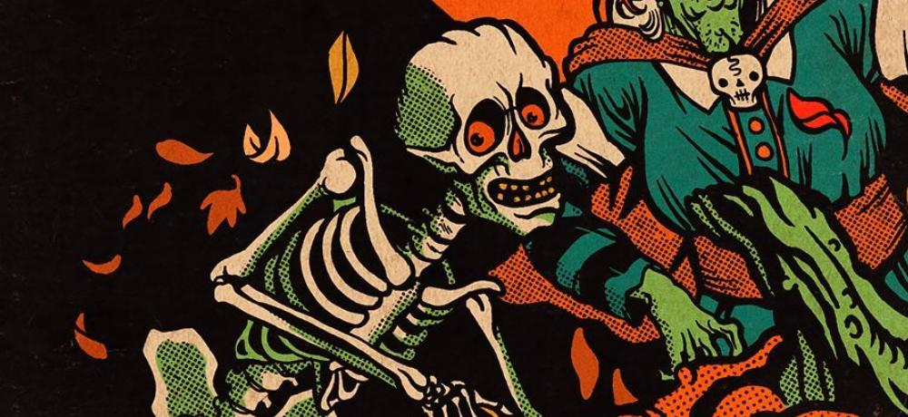 """""""Every Day is Halloween"""" in New Autumnal Apparel from Cavitycolors"""