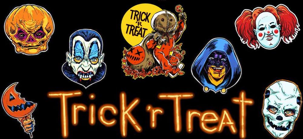 """Trick 'r Treat' """"Frightville Novelties"""" Halloween"""