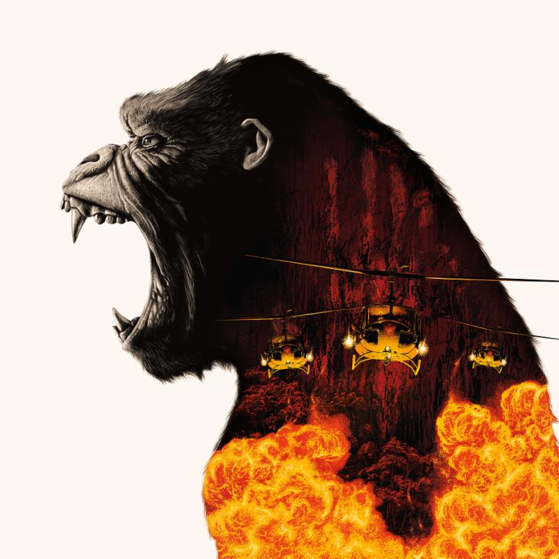 Kong Skull Island Ost Deluxe Lava 2lp Vinyl