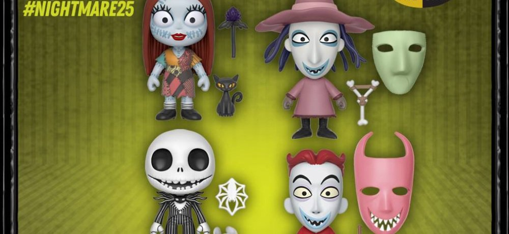 Funko to Celebrate 25 Years of Halloween Town with New 'The Nightmare Before Christmas' Collectibles