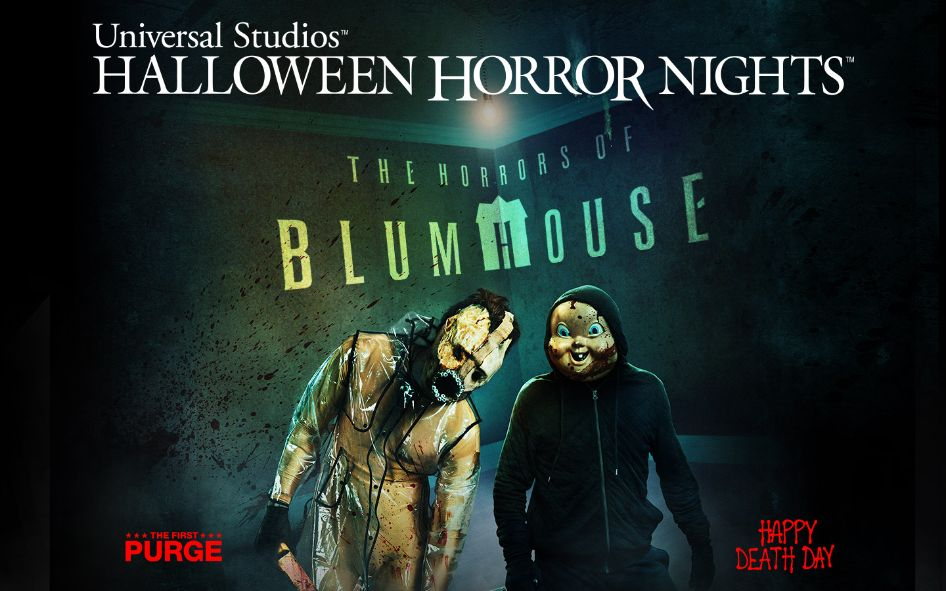 'The Horrors of Blumhouse' Returns to Universal Studios' Halloween Horror Nights