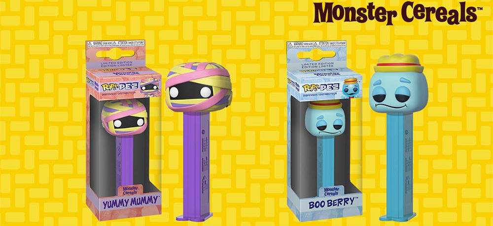 General Mills Monsters Pop! PEZ Dispensers Are Coming This Fall from Funko!