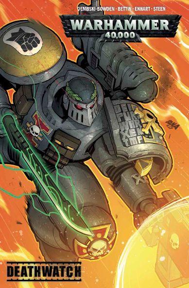'Warhammer 40,000: Deathwatch' – Graphic Novel in Stores December 2018!