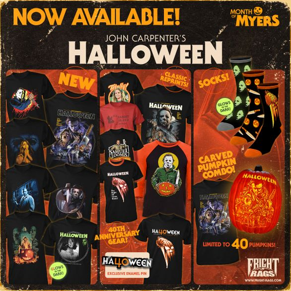 """Fright-Rags' """"Month of Myers"""" Features Halloween 1-6′ Apparel"""