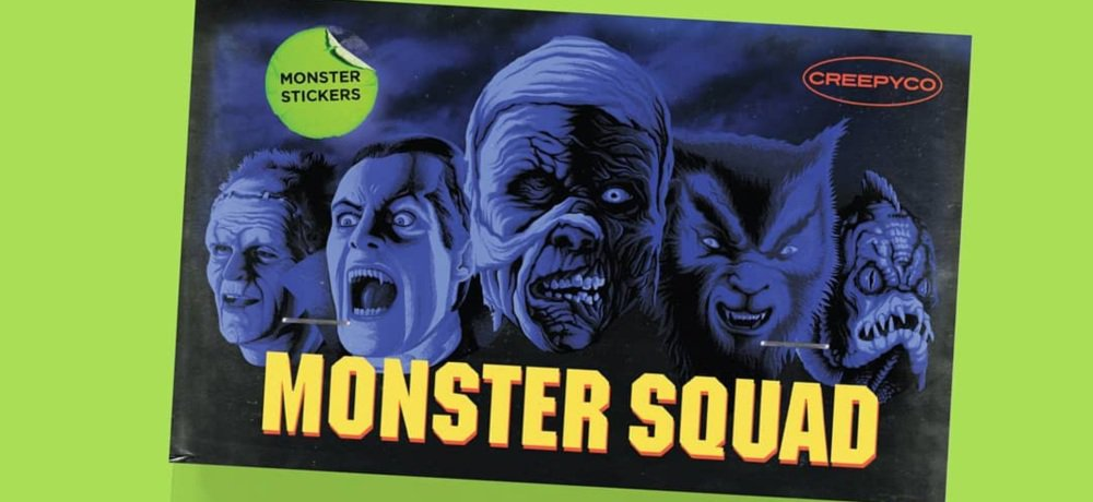 Creepy Co. Celebrates 'The Monster Squad' with New Button-Up Shirt and Sticker Pack