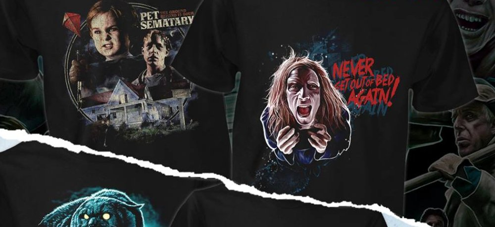 Fright Rags' 'Pet Sematary' (1989) Shirt Collection Features Zelda, Church, and Victor Pascow