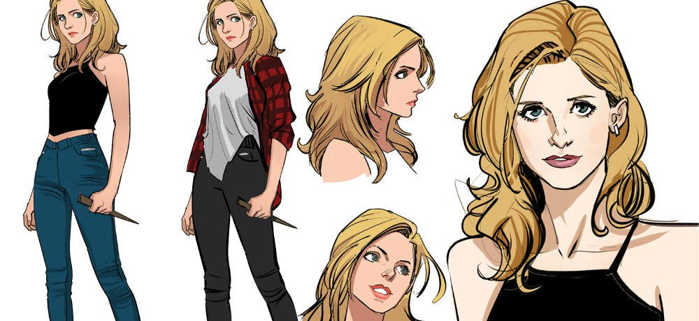 Get a Look at Buffy, Spike, Willow, Xander, and the Rest of the Gang from 'Buffy the Vampire Slayer' #1