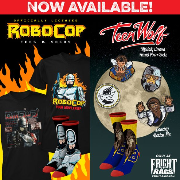 Fright-Rags Kicks Off 2019 with 'Robocop,' 'Teen Wolf