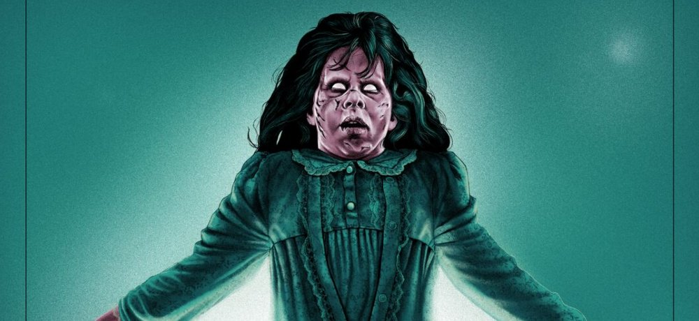 Grey Matter Art Unveils 'The Exorcist' Limited Edition Screen Print by Artist Sara Deck