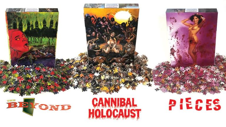 Are You Ready For Puzzles Which Feature… Cannibal Holocaust, Beyond, or Pieces?!