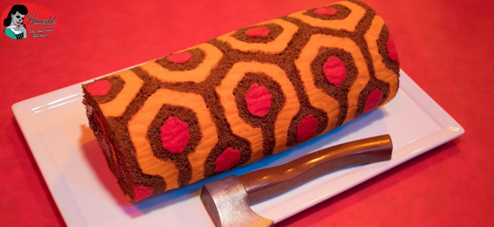 Make a REDRUM Roll Cake with Kaci Hansen on a New Episode of 'The Homicidal Homemaker' Horror Cooking Show