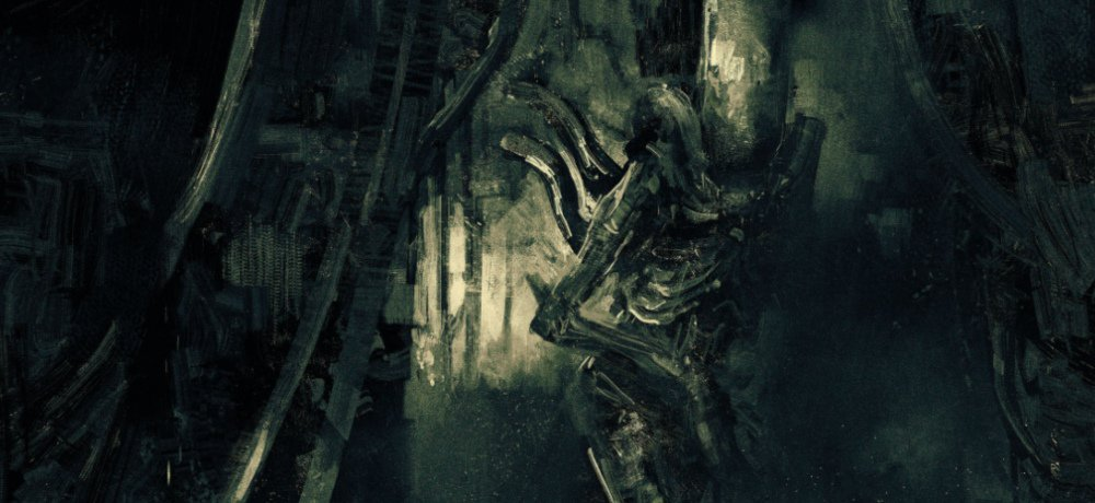 Grey Matter Art Celebrates 40 Years of 'ALIEN' with Limited Edition Poster by Artist Karl Fitzgerald