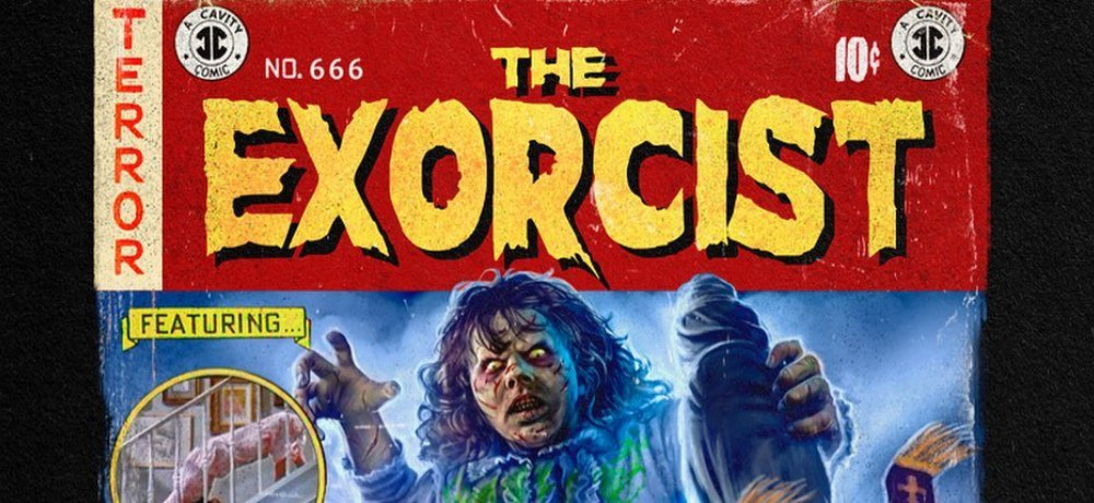 Cavitycolors' New EC Comics-Inspired Shirt Design Celebrates 'The Exorcist' – Available Only Until Sunday!