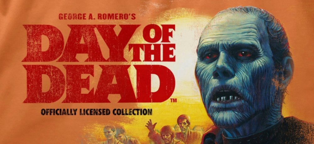 Fright-Rags Celebrates George A. Romero's DAY OF THE DEAD with New Apparel Collection