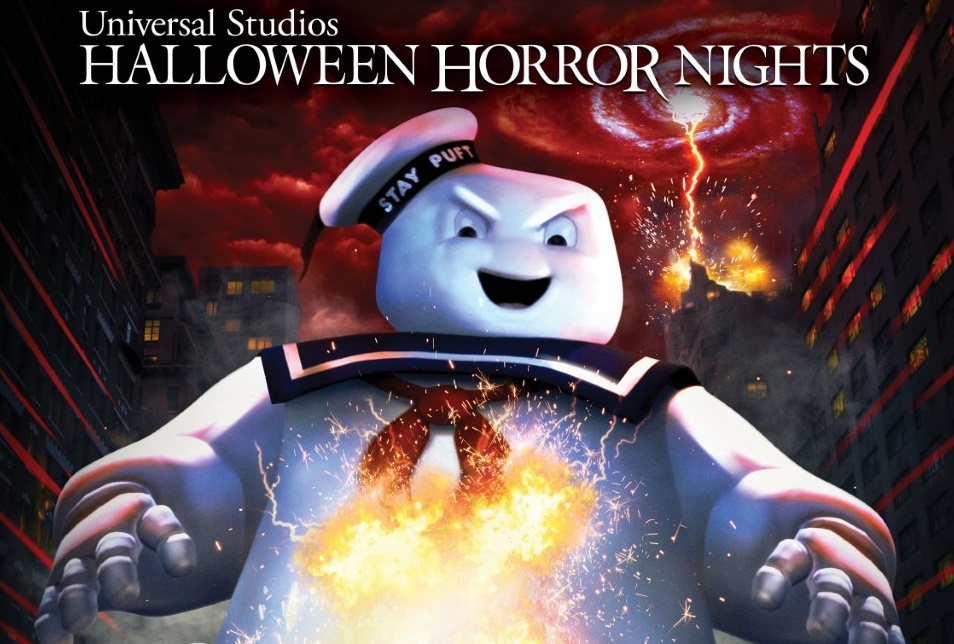 Universal Studios Welcomes GHOSTBUSTERS for the First Time to HALLOWEEN HORROR NIGHTS