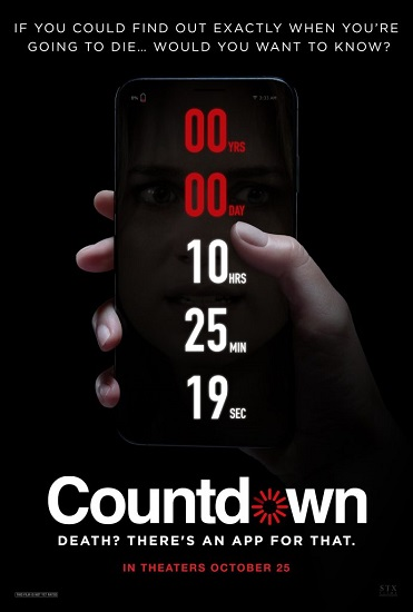 Phone App Predicts Your Time of Death in the Trailer for COUNTDOWN