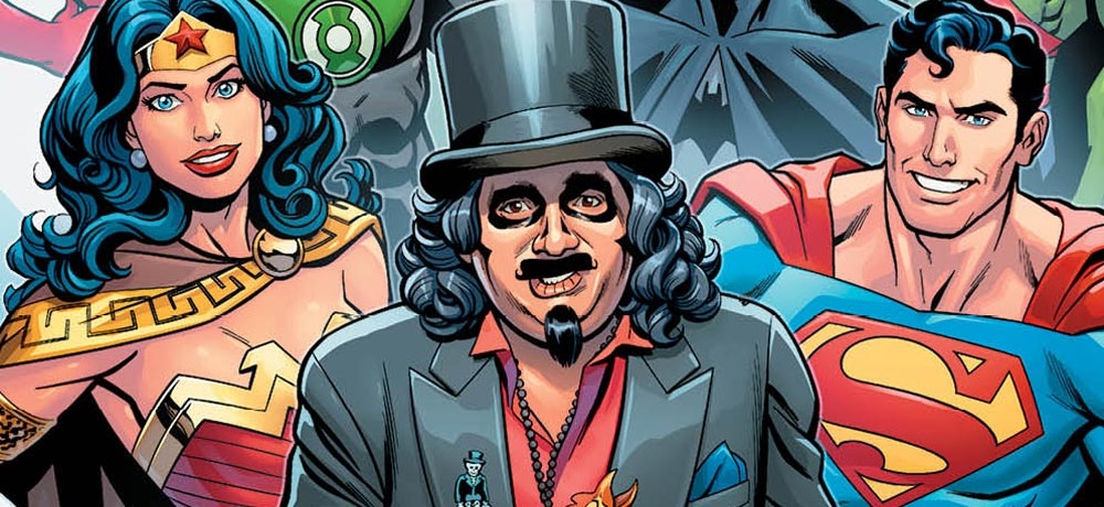 DC Announces SVENGOOLIE MEETS THE DC UNIVERSE