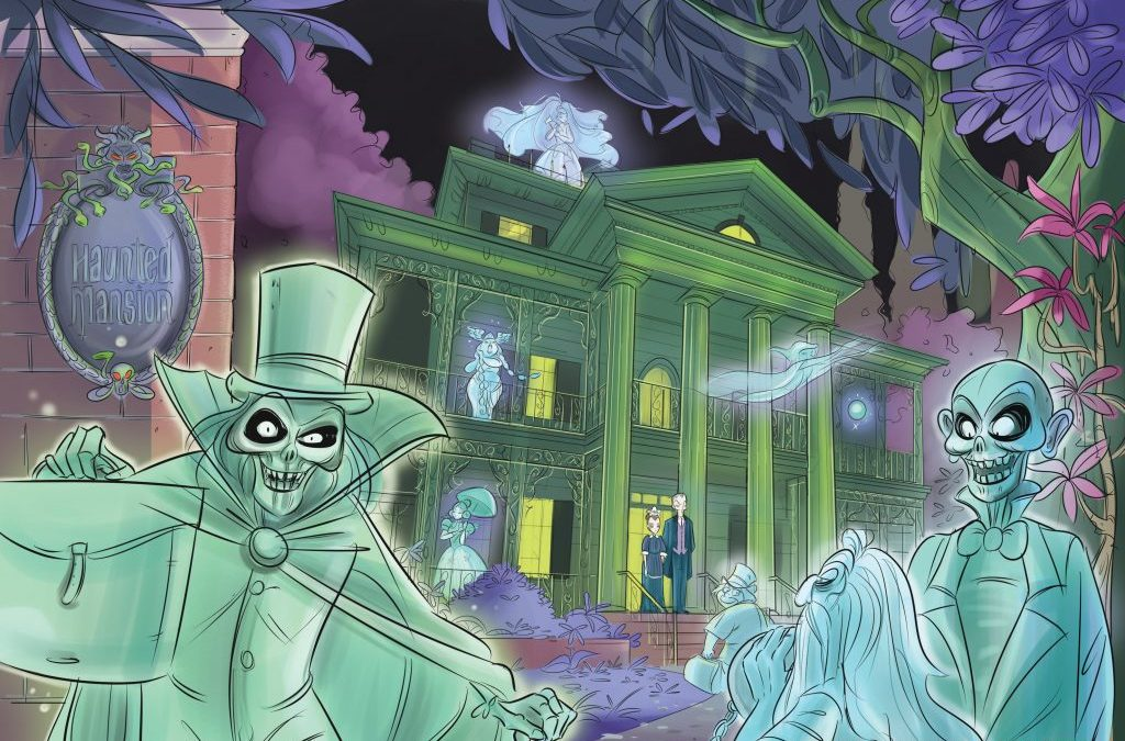 IDW Publishing Opens the Doors to 'Haunted Mansion' with Original Graphic Novel