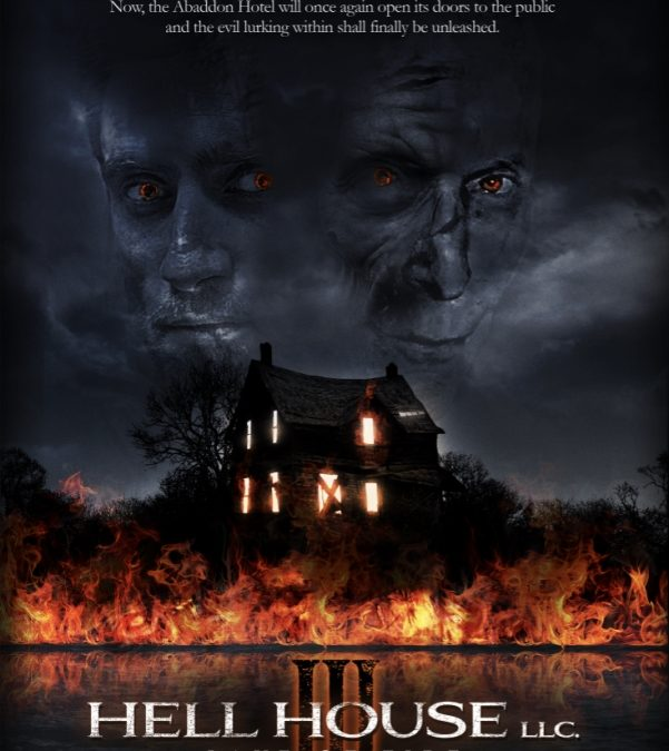 It's Finally Here! HELL HOUSE LLC III: LAKE OF FIRE Premieres on Shudder Today, September 19th!