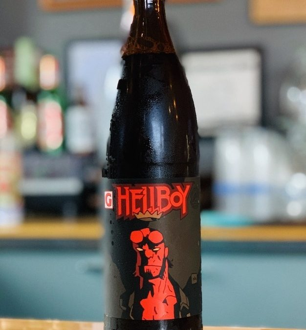 666 Cases of Hellboy Beer On Tap from Gigantic Brewing and Dark Horse Comics