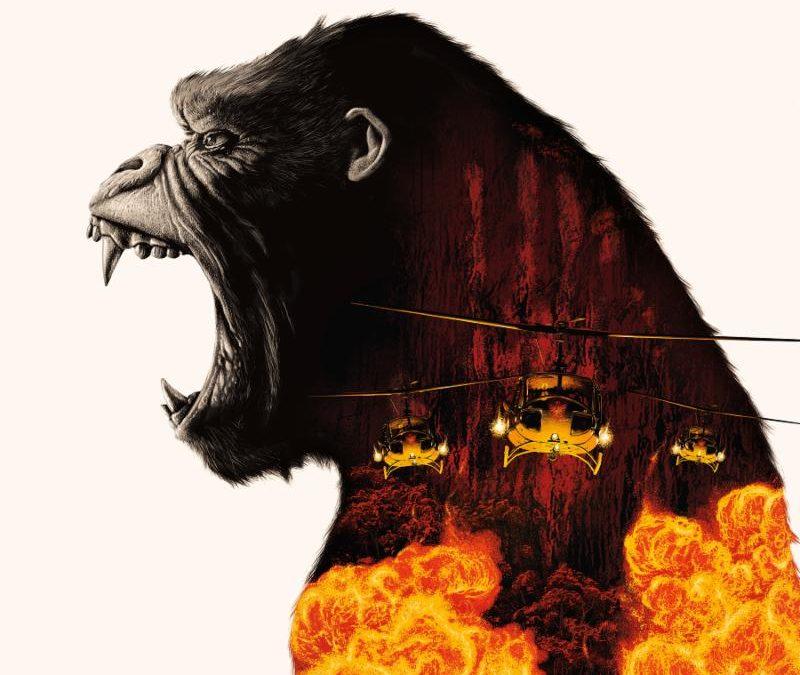 "'Kong: Skull Island' OST   Deluxe ""Lava"" 2LP Vinyl Available on Waxwork Records"