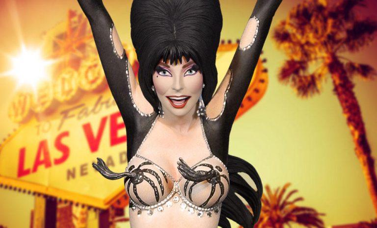 Sideshow Is Betting Big On A Busty Vegas Themed Elvira