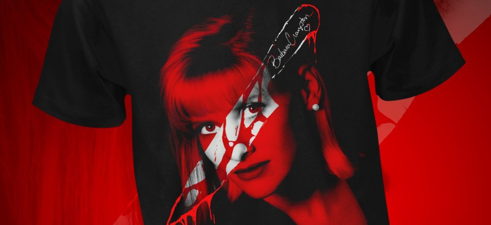 Fright-Rags Celebrates Horror Icon Barbara Crampton with Official T-Shirt