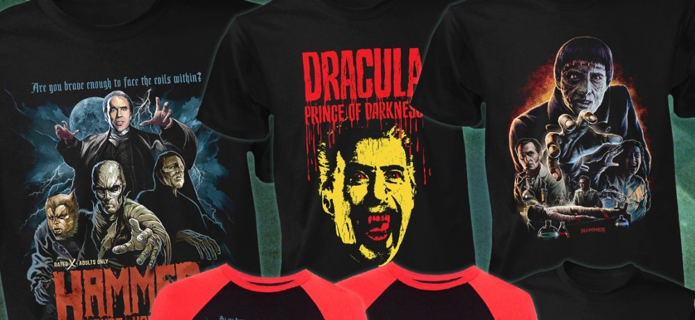 Fright-Rags Celebrates the Iconic Characters of Hammer